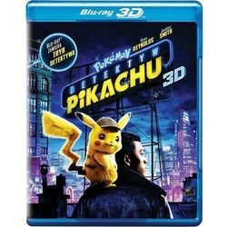 POKEMON DETEKTYW PIKACHU (2BD 3D) (Płyta BluRay)