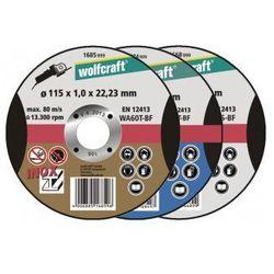 WOLFCRAFT Tarcza tnąca 125 mm do aluminium grubość 1.5mm 1669999 (ZNALAZŁEŚ TANIEJ - NEGOCJUJ CENĘ !!!)