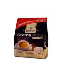 Dallmayr Crema d'Oro Mild & Fein Pads 28 szt.