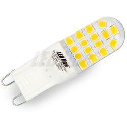 Żarówka LED G9 230V 2,5W biała ciepła