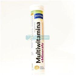 MULTIWITAMINA+MINERALY BIOTTER *20 TABL.MUS. DIAG