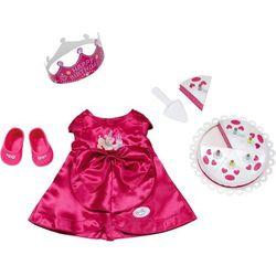 Ubranko dla lalki Baby born Deluxe Happy Birthday