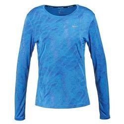 Nike Performance DRY MILER Bluzka z długim rękawem light photo blue/reflective silver