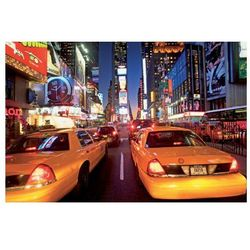New York Taxi Times Square - fototapeta