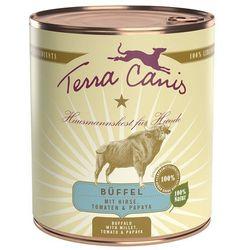 Terra Canis, 6 x 800 g - Wołowina z marchewką, jabłkiem i ryżem naturalnym
