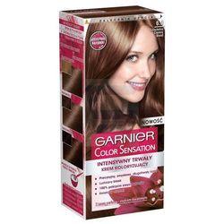 Garnier Color Sensation Intensywnie trwały krem koloryzujący do włosów Szlachetny Ciemny Blond nr 6.0