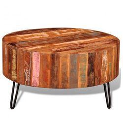 Stolik vintage, drewniana ława z drewna z odzysku Zapisz się do naszego Newslettera i odbierz voucher 20 PLN na zakupy w VidaXL!