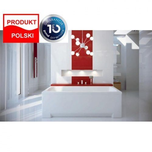 Besco Besco optima 160x70cm wanna prostokątna + obudowa + syfon #wao-160-pk/#oao-160-pk/19975 160 x 70 (Optima 160)
