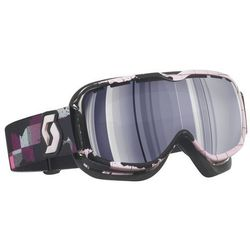 Gogle SCOTT AURA plaid rose (purple chrome)