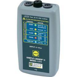 Rejestrator prądu Chauvin Arnoux P01157080, Mierzone wielkości: Natężenie prądu