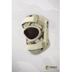 Militarna orteza rzepki z fiszbinami bocznymi