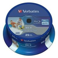 Verbatim BD-R SL, Hard Coat protective layer 25GB, spindle, 43811, 6x, 25-pack, do archiwizacji danych