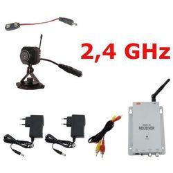 Mikrokamera bezprzewodowa 2,4 GHz 811GP