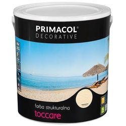 Farba strukturalna Toccare Kremowy 5 l Primacol Decorative