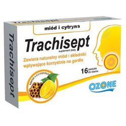 Trachisept miód i cytryna 16 pastyl.