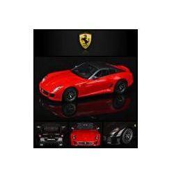 Duże Zdalnie Sterowane Ferrari 599 GTO (1:14) + Pilot.