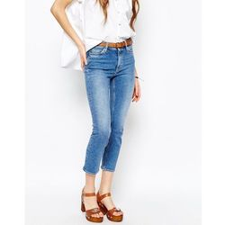 M.i.h. Jeans Niki Cropped Straight Jeans - Blue