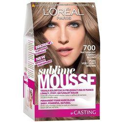 LOREAL Paris Sublime Mousse 700 Naturalny ciemny blond Farba do włosów