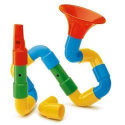 Quercetti, Zestaw konstrukcyjny, Saxofon, 16 elementów Darmowa dostawa do sklepów SMYK