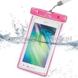 Etui wodoszczelne Celly do HTC Desire 610, różowy