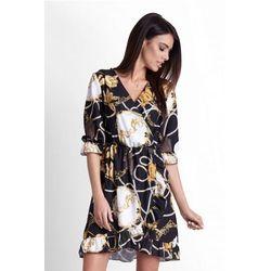 3f56a92751 suknie sukienki asos exclusive sukienka rozkloszowana bardotka w ...