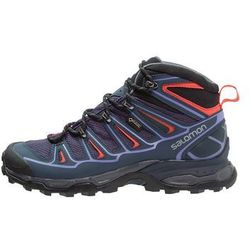 Salomon XULTRA 2 GTX Buty trekkingowe nightshade grey/deep blue/coral punch