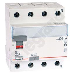 Legrand Wyłącznik różnicowoprądowy P304 25A 300mA AC 009011