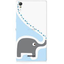 Fancy Case - Sony Xperia T3 - etui na telefon - słonik