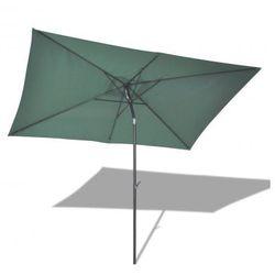 Parasol przeciwsłoneczny w prostokątnym kształcie (3x2 m), zielony Zapisz się do naszego Newslettera i odbierz voucher 20 PLN na zakupy w VidaXL!