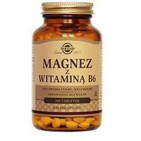 SOLGAR Magnez z witaminą B6 x 100 tabl.