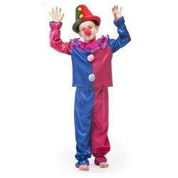 Strój Klaun - przebrania / kostiumy dla dzieci - 134 cm