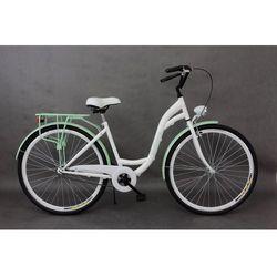 Goetze Rower miejski Blueberry 28 biało-pistacjowy 18