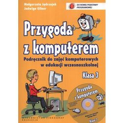 Przygoda z komputerem. Klasa 3. Podręcznik z płytą CD-ROM (opr. miękka)