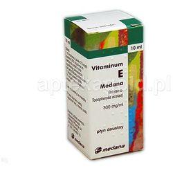 Vitaminum E Medana płyndoustny 0,3g/ml 10m