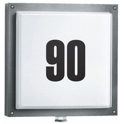 STEINEL L 690 A - lampa LED z czujnikiem ruchu PIR (numeryczna), 16W, antracyt alu., szkło, ciepła biała 671617 (ZNALAZŁEŚ TANIEJ - NEGOCJUJ CENĘ !!!)