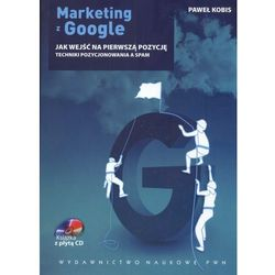 Marketing z Google Jak wejść na pierwszą pozycję +CD (opr. miękka)