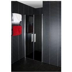 DUSCHY DuoDoor Drzwi prysznicowe wahadłowe 80x190, szkło barwione 5262-80