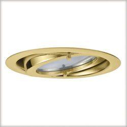 Zestaw opraw meblowych 3x20W 60VA 230/12V G4 70mm złote