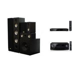 PIONEER VSX-930 + BDP-170 + TAGA TAV-406 + TSW-90 - Kino domowe - Autoryzowany sprzedawca