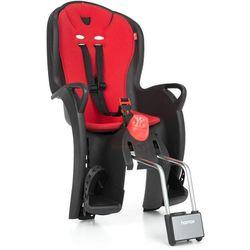 HAMAX fotelik rowerowy Sleepy - Black/Red