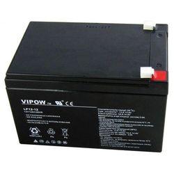 akumulator żelowy AGM Vipow 12V 12Ah