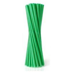 Słomki proste JUMBO fi 8 dł. 25 cm, pacz. 500szt- zielone