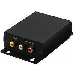 Monacor HDRCA-100CON Konwerter HDMI™/composite