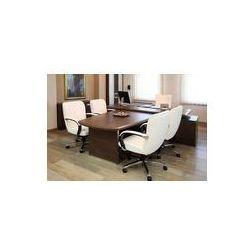 Foto naklejka samoprzylepna 100 x 100 cm - Pusta Office Manager w luksusowe meble