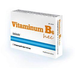 Vitaminum B6 hec tabl. 0,01g 60tabl.(2blis
