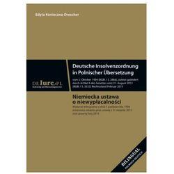 Niemiecka ustawa o niewypłacalności w tłumaczeniu na język polski [Edyta Konieczna-Drescher]