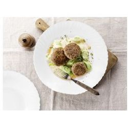 Zestaw obiadowy dla 6 osób CoK Titan z białego szkła