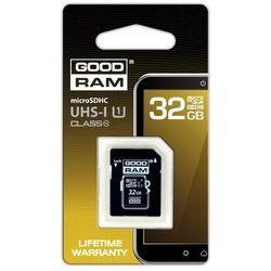 KARTA PAMIĘCI MIKRO SD 32GB CLASS10 + ADAPTER GOODRAM
