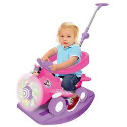 Kiddieland, Myszka Minnie, jeździk, Minnie Plane Activity, 4w1 Darmowa dostawa do sklepów SMYK