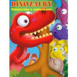 Książeczka z zakładkami Dinozaury (opr. kartonowa)